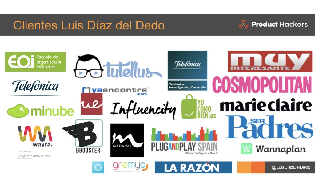 Clientes Luis Ignacio Diaz del DEdo